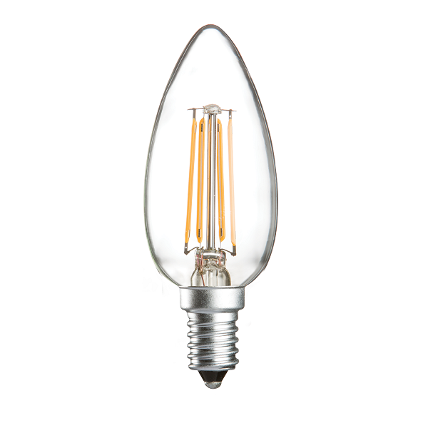 SES E14 Candle LED Light Bulb 4 Watt | Luxury Lighting
