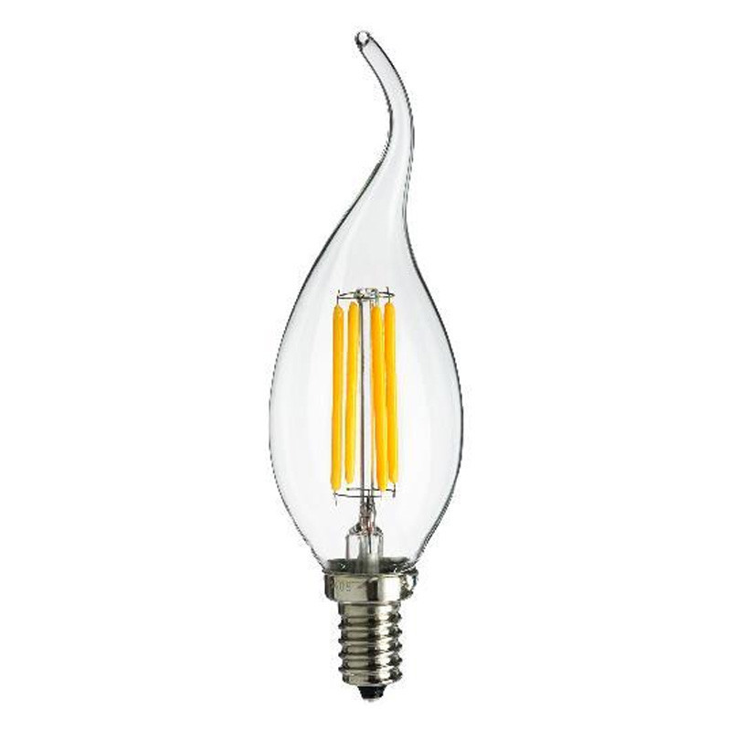 SES E14 Flame Tipped Candle LED Light Bulb 4 Watt | Luxury Lighting