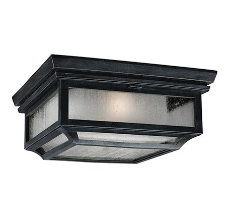 Shepherd Flush Porch Lantern - Feiss Lighting