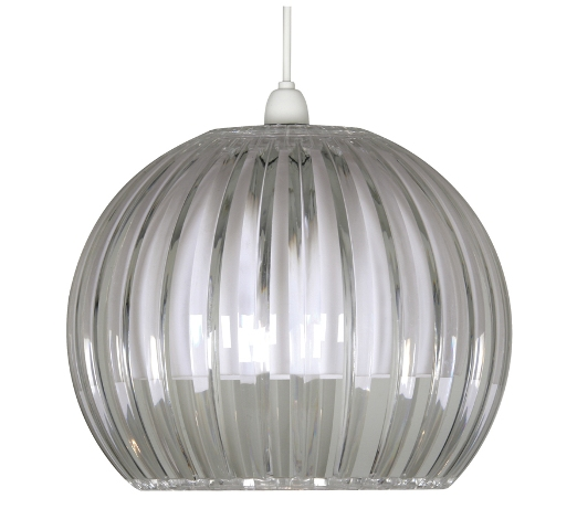 Oaks shimna clear large ceiling lamp shade 669 l cl oaks shimna clear large lamp shade oaks lighting aloadofball Image collections
