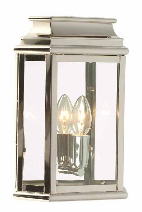 Elstead St Martins Solid Brass Lantern in Polished Nickel | ST MARTINS PN | Elstead Lighting | Luxury Lighting
