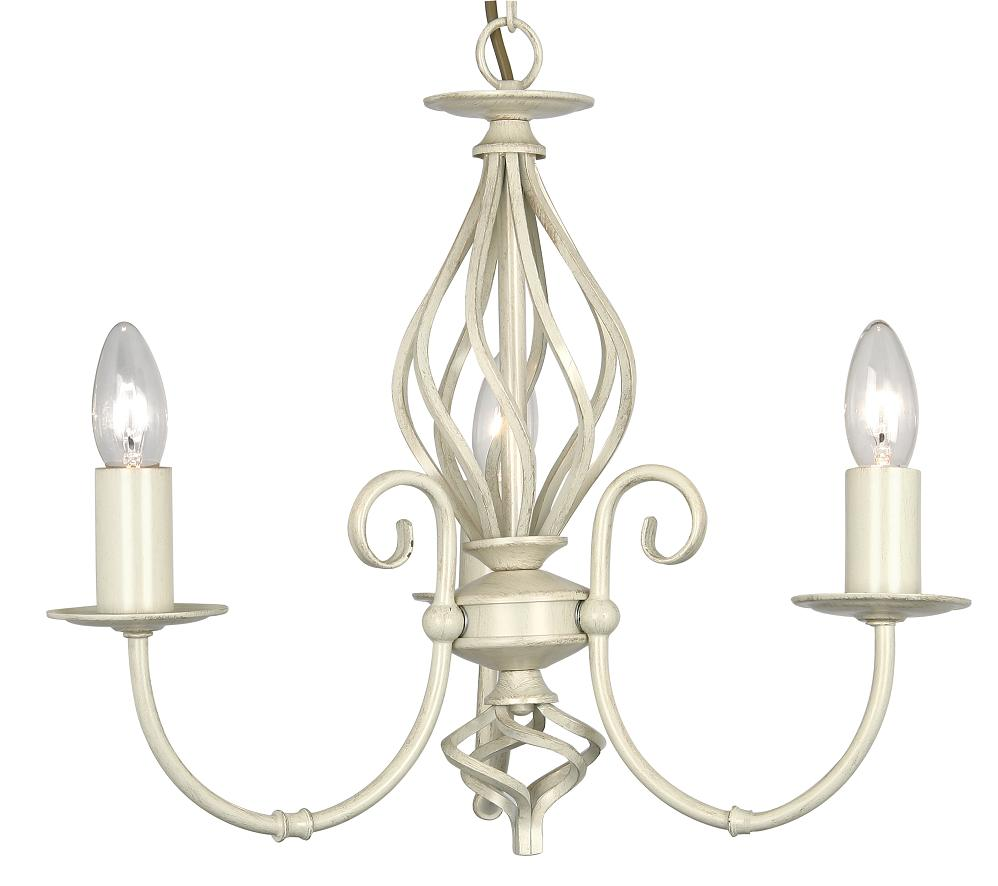 Oaks Tuscany Ivory 3 Light Chandelier 3380 3 Iv Oaks