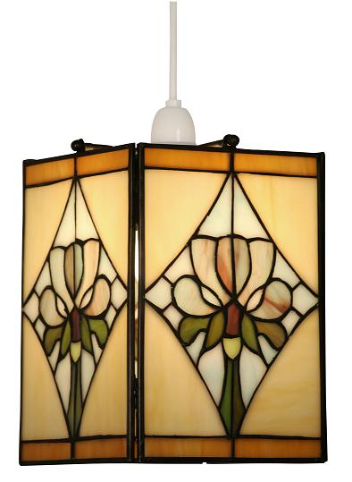 Oaks violet tiffany glass ceiling lamp shade ot 25 violet oaks violet tiffany lamp shade oaks lighting aloadofball Image collections
