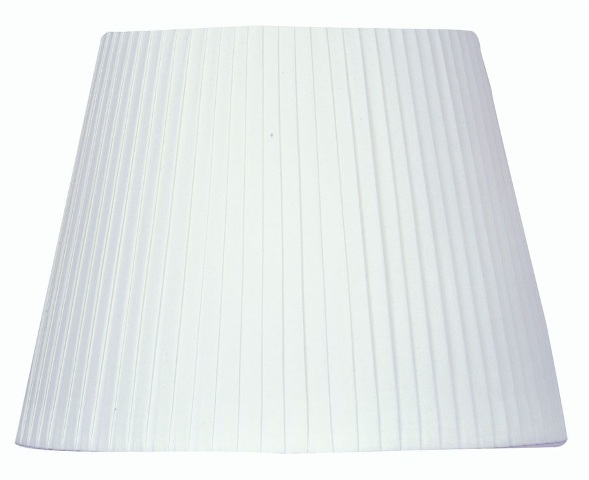Oaks white pencil pleat drum 16 lamp shade s81416wh oaks white 16 pencil pleat drum lamp shade oaks lighting aloadofball Images