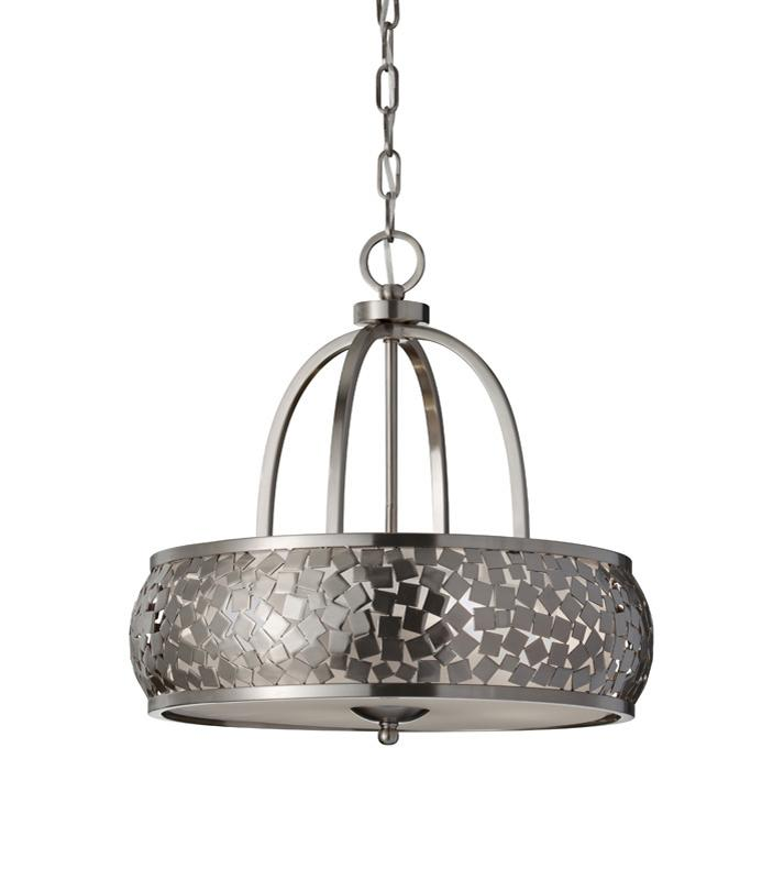 Elstead zara 4 light ceiling light pendant fef287374bs zara 4 light ceiling light pendant feiss lighting mozeypictures Image collections