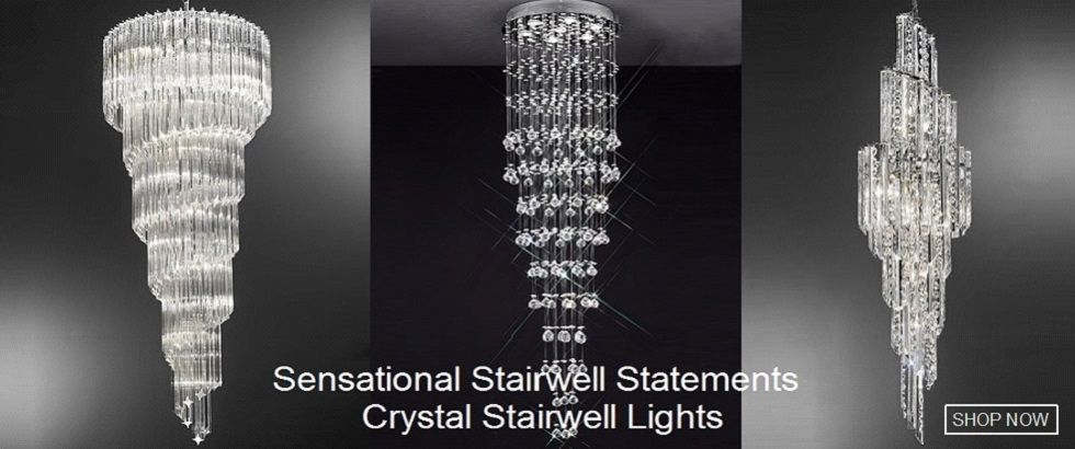 Crystal Stairwell Lights